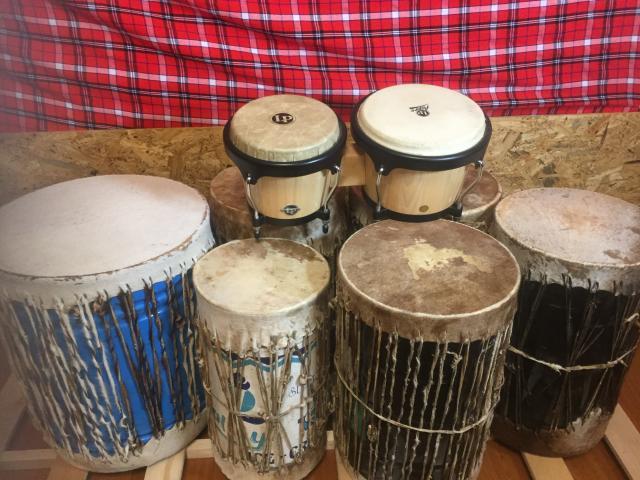 [キニナルッ]「NGOMA(ンゴマ)」&「BONGO(ボンゴ)」アフリカンミュージックレッスンを開始!
