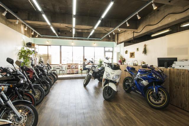 [OPEN]バイク初心者も大歓迎アットホームなバイクショップ[ショッピング]
