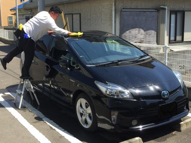 [キニナルッ]タウン情報まつやまを見たで年間洗車プランが10%OFF!