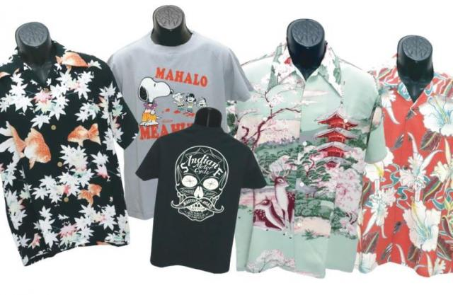 [キニナルッ]アロハシャツやミリタリーTシャツなど人気ブランドの夏物が続々入荷中!