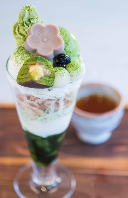 [キニナルッ]老舗和菓子店ならではの上品な「抹茶パフェ」が新登場!