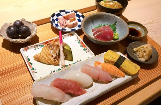 [キニナルッ]高級寿司店でご褒美ランチ!好評だったランチが再スタート