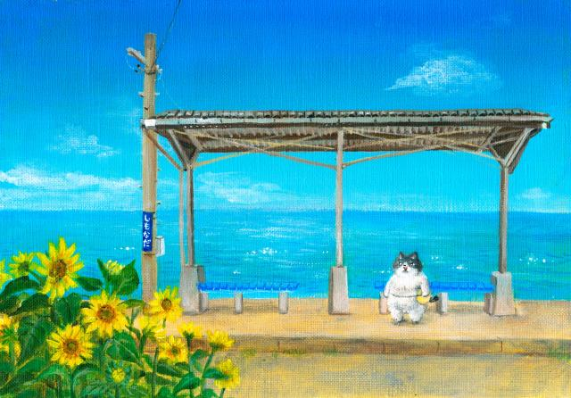 [キニナルッ]創作童話「かなしきデブ猫ちゃん」第2弾が愛媛新聞で連載スタート!