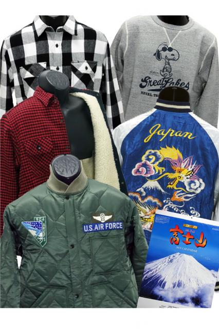 [キニナルッ]フライトジャケットやアメカジなど注目の冬物新作が続々登場!