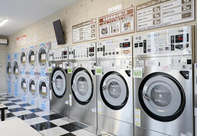 [OPEN]洗濯から乾燥までノンストップ!待望の3号店が湯渡町にオープン[ショッピング]