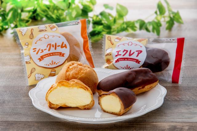[キニナルッ]一六本舗の「シュークリーム」と「エクレア」が美味しくなって登場!