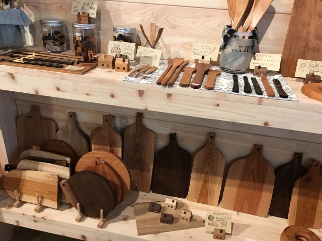 [OPEN]優しい木の香りに包まれる木製雑貨専門店[ショッピング]
