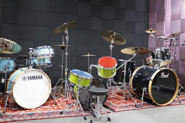 [OPEN]スタジオとしても利用できるドラム教室が誕生![学校・塾・教室]