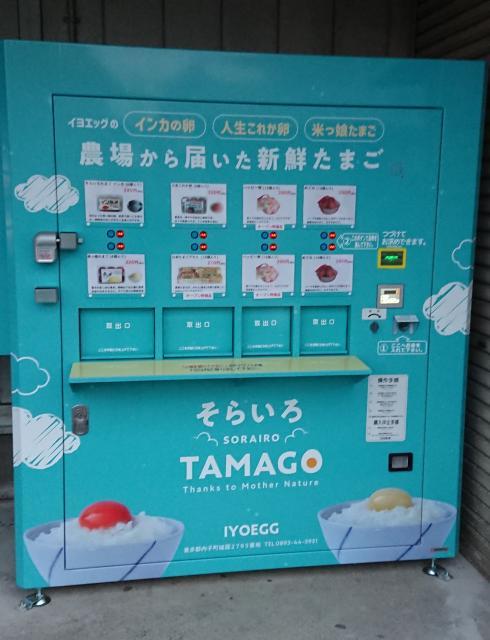 [キニナルッ]農場から届いた新鮮な卵自動販売機でいつでも気軽にGET!