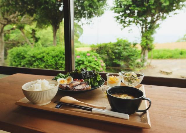 [OPEN]季節の料理を楽しめる見晴らしのいい農家カフェ[グルメ]