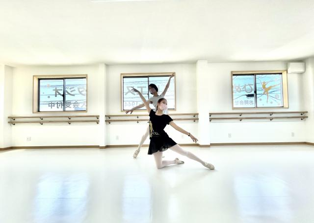 [OPEN]バレエをもっと身近に! 気軽に立ち寄れるスタジオ[学校・塾・教室]