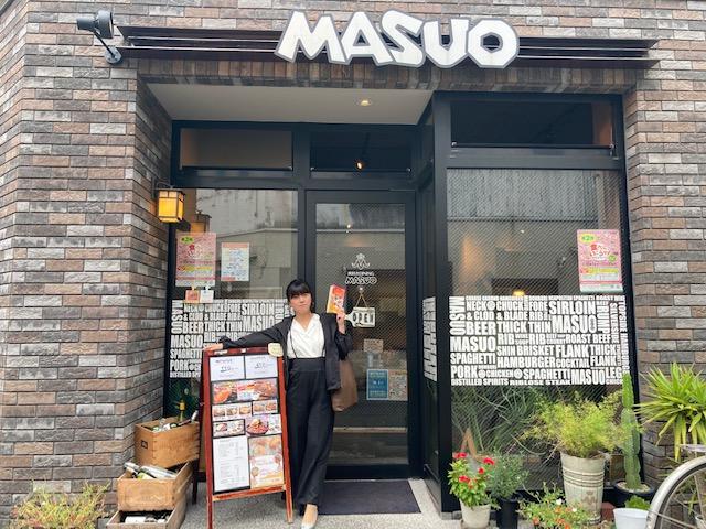 『肉好きダイニングMASUO』でスタミナランチ☆